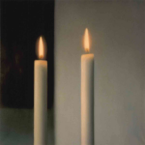 Richter Two Candles Zwei Kersen Two Candles by